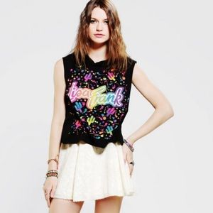 Lisa Frank x Urban Outfitters Graphic Muscle Tank